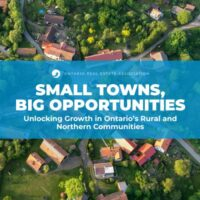 Small Towns, Big Opportunities