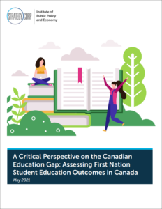 cover of report for assessing first nation student education outcomes